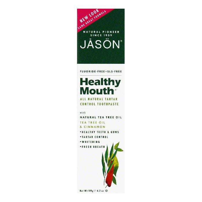 Jason Natural Healthy Mouth Toothpaste, 4.2 OZ