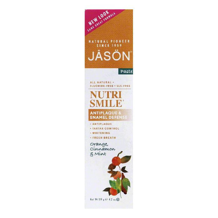 Jason Natural Nutrismile Toothpaste, 4.2 OZ
