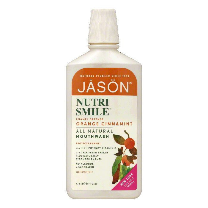Nutri Smile Jason Nutri Smile Mouthwash, 16 OZ