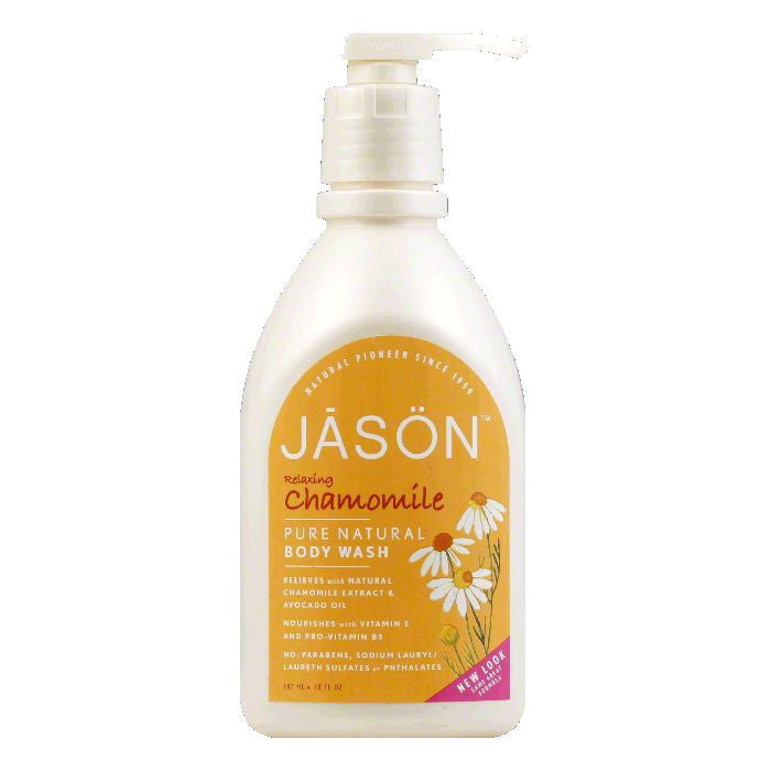 Jason Chamomile Satin Shower Body Wash, 30 OZ