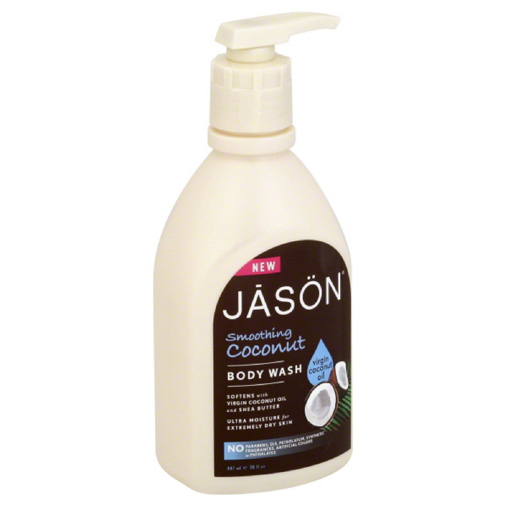 Jason Smoothing Coconut Body Wash, 30 Oz