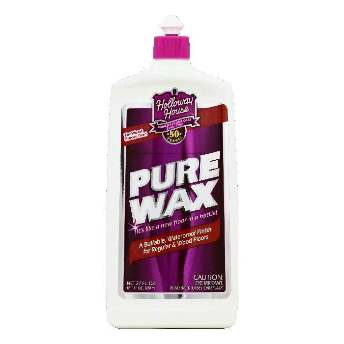 Holloway House Pure Wax, 27 OZ (Pack of 6)