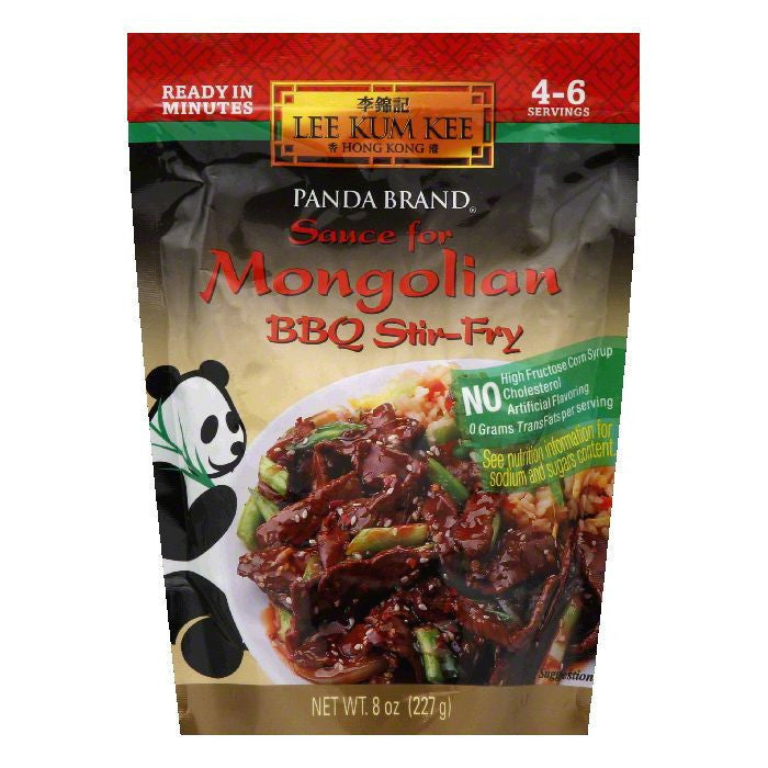 Lee Kum Kee Mongolian BBQ Stir Fry Sauce, 8 OZ (Pack of 6)