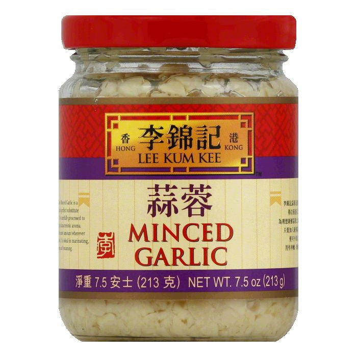 Lee Kum Kee Minced Garlic, 7.5 Oz (Pack of 12)