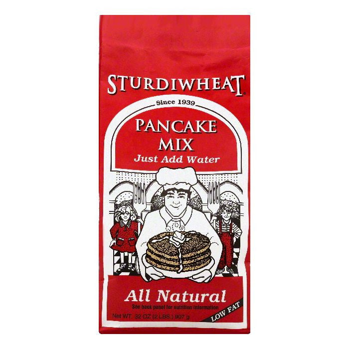 Sturdiwheat Pancake Mix, 32 OZ (Pack of 6)