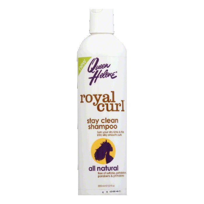 Queen Helene Stay Clean Shampoo, 12 Oz