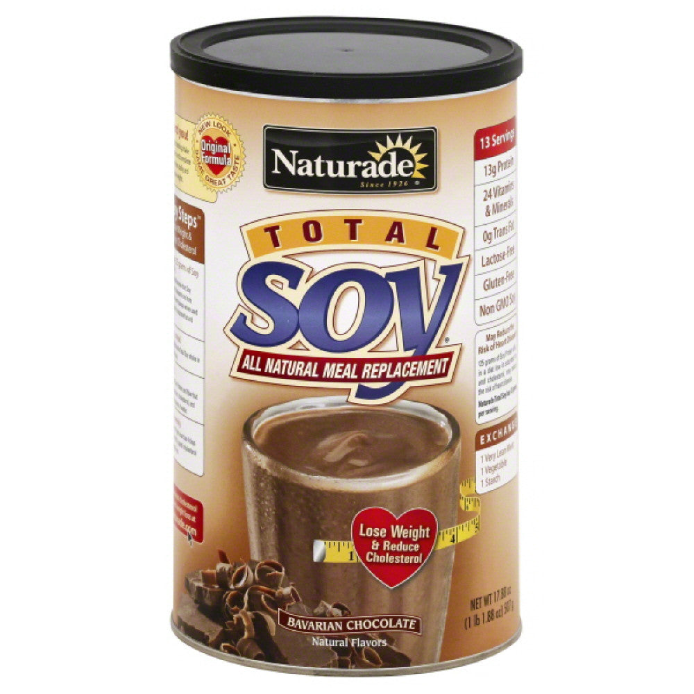 Naturade Bavarian Chocolate Total Soy All Natural Meal Replacement, 17.88 Oz