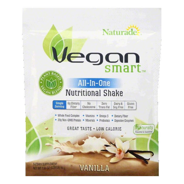Naturade Vanilla All-In-One Nutritional Shake, 1.51 OZ (Pack of 12)