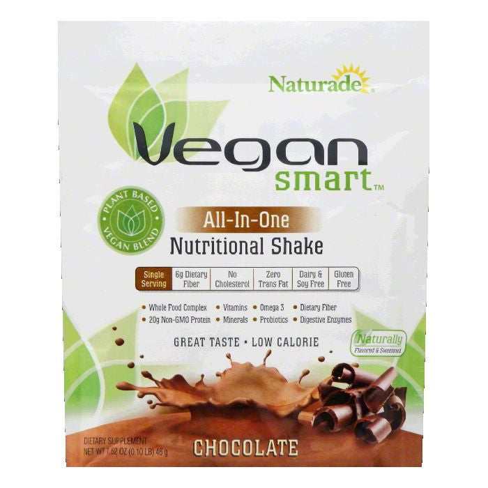 Naturade Chocolate All-In-One Nutritional Shake, 1.62 OZ (Pack of 12)