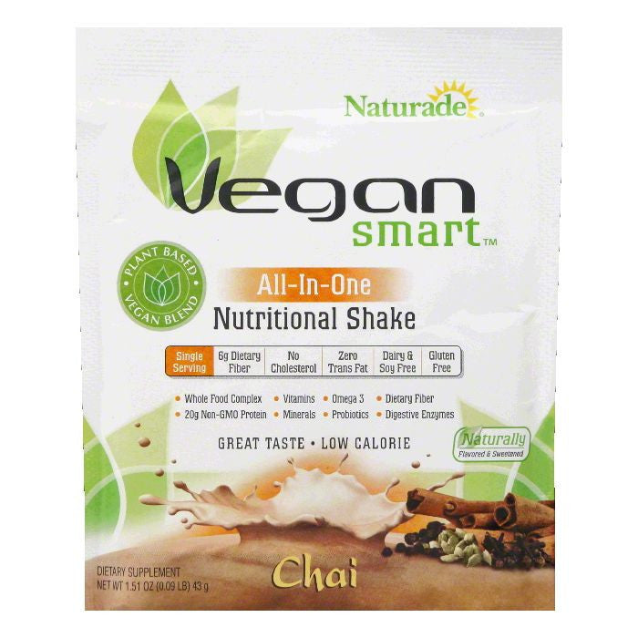 Naturade Chai All-In-One Nutritional Shake, 1.51 OZ (Pack of 12)