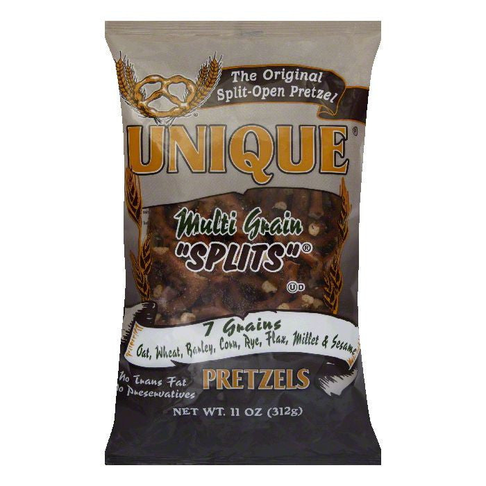 Unique Pretzel Multigrain, 11 OZ (Pack of 12)