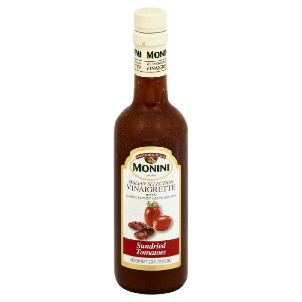 Monini Sundried Tomatoes Vinaigrette, 12.68 Oz (Pack of 6)