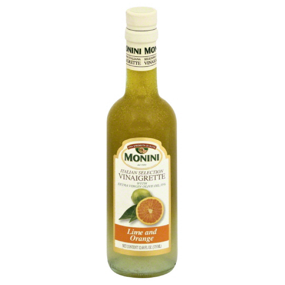 Monini Lime and Orange Vinaigrette, 12.68 Oz (Pack of 6)