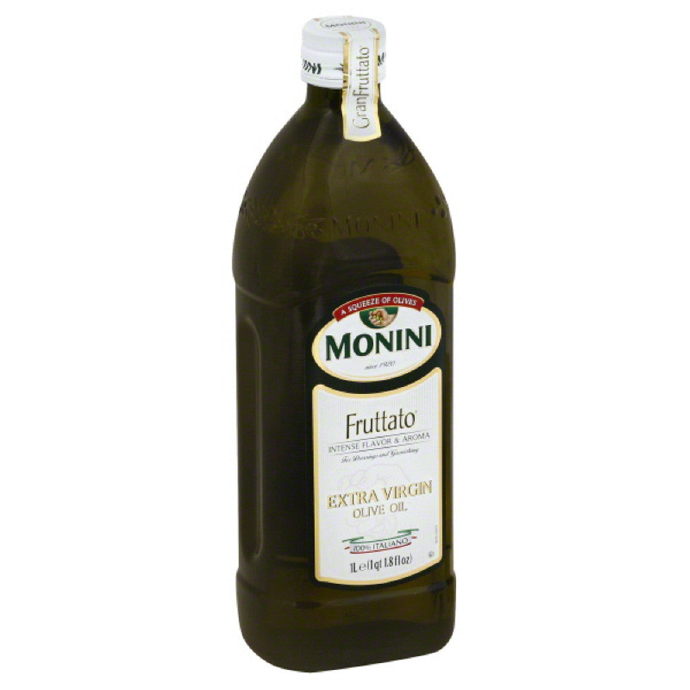 Monini Fruttato Extra Virgin Olive Oil, 33.8 Fo (Pack of 12)