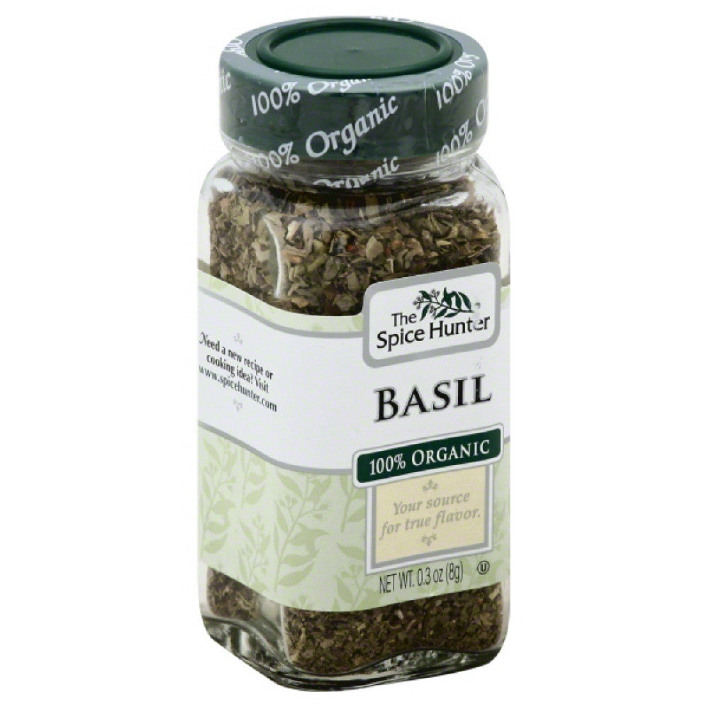 Spice Hunter 100% Organic Basil, 0.3 Oz (Pack of 6)
