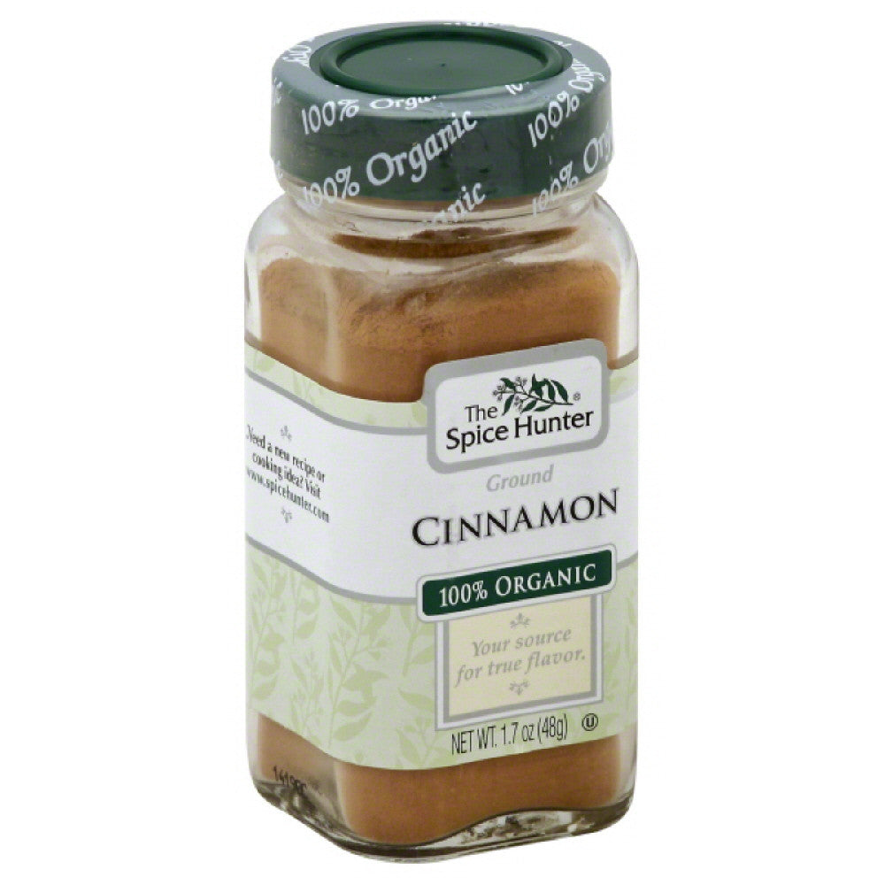 Spice Hunter Ground 100% Organic Cinnamon, 1.7 Oz (Pack of 6)