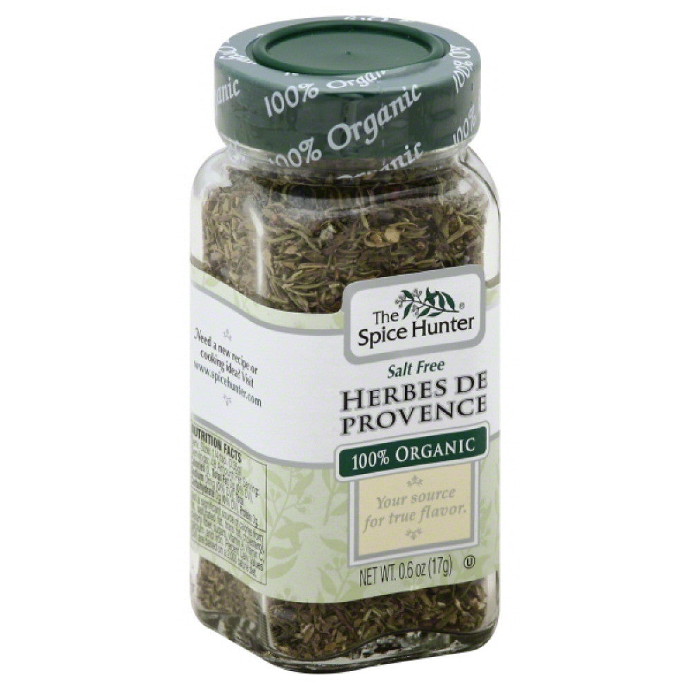 Spice Hunter 100% Organic Salt Free Herbes De Provence, 0.6 Oz (Pack of 6)