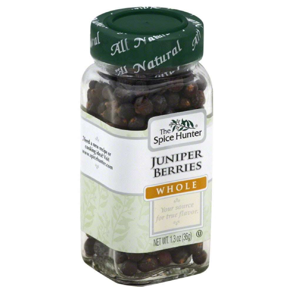Spice Hunter Juniper Berries Whole, 1.3 Oz (Pack of 6)