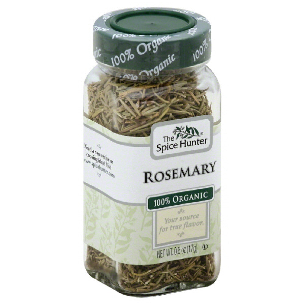 Spice Hunter 100% Organic Rosemary, 0.6 Oz (Pack of 6)