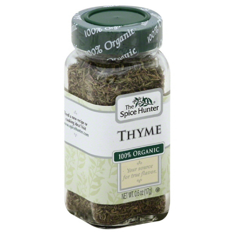 Spice Hunter 100% Organic Thyme, 0.6 Oz (Pack of 6)