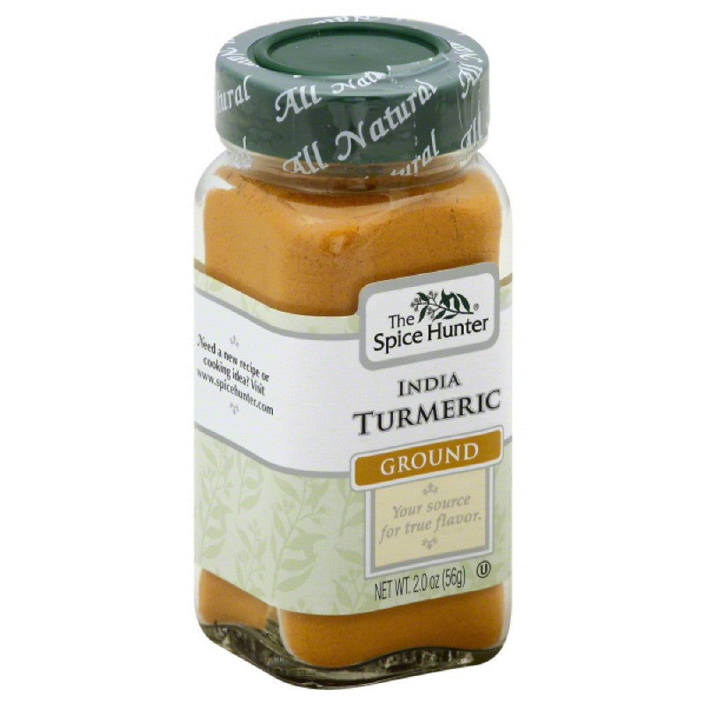 Spice Hunter Ground India Turmeric, 2 Oz (Pack of 6)