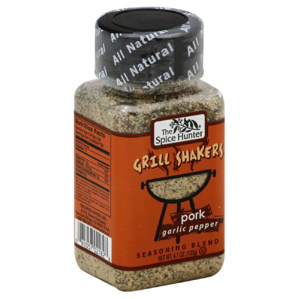 Spice Hunter Garlic Pepper Pork Seasoning Blend, 4.7 Oz (Pack of 6)