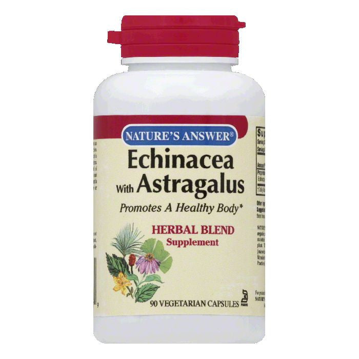 Nature's Answer Echinacea with Astragalus, 90 SG