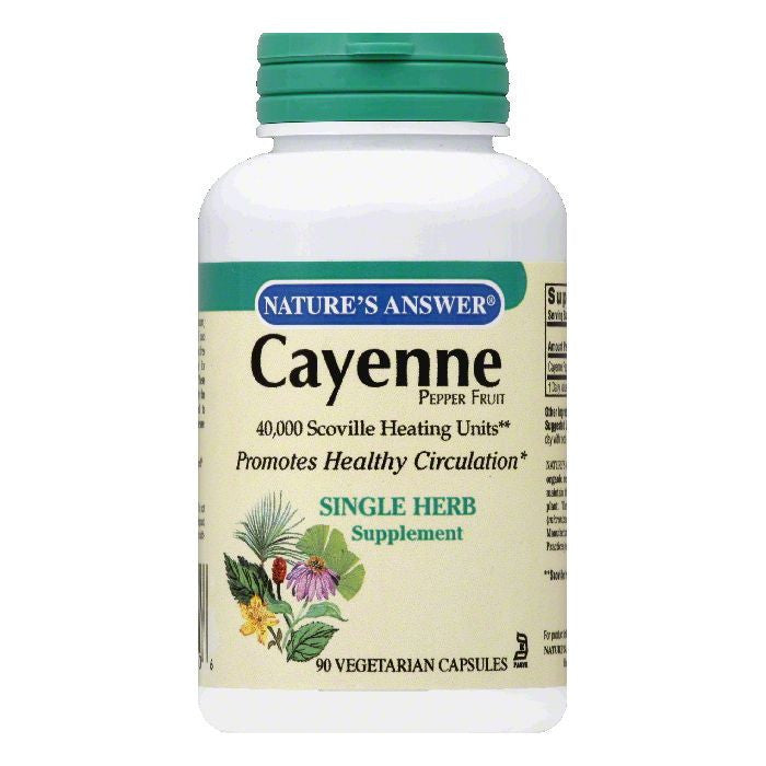 Nature's Answer Cayenne Pepper Fruit, 90 SG