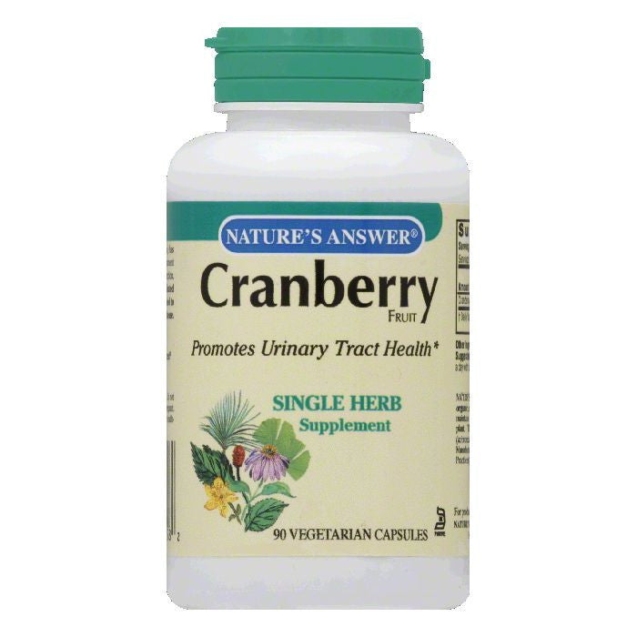 Nature's Answer Cranberry Fruit, 90 SG