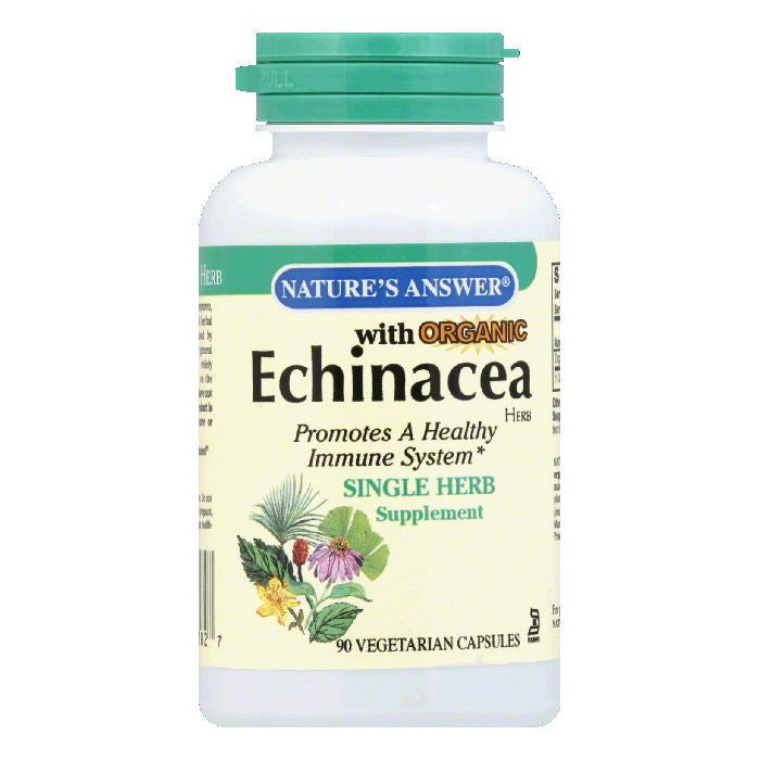 Nature's Answer Echinacea Herb, 90 VC
