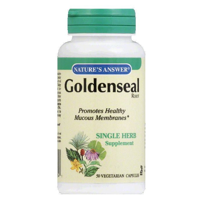 Nature's Answer Goldenseal Root, 50 VC