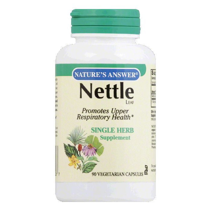 Natures Answer Vegetarian Capsules Nettle Leaf, 90 VC
