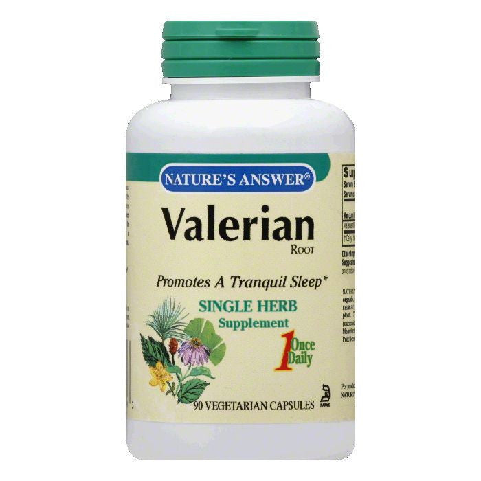 Nature's Answer Valerian Root, 90 CP