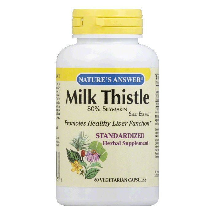 Nature's Answer Milk Thistle Seed Standard, 60 VC