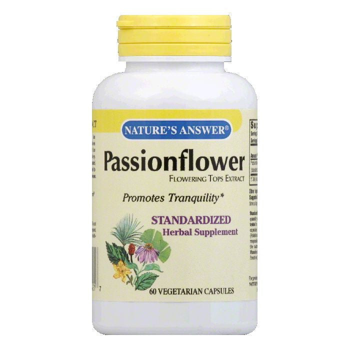 Nature's Answer Passionflower Standard, 60 VC