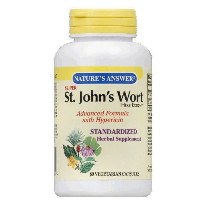 Nature's Answer St. John's Wort Herb Super, 60 VC