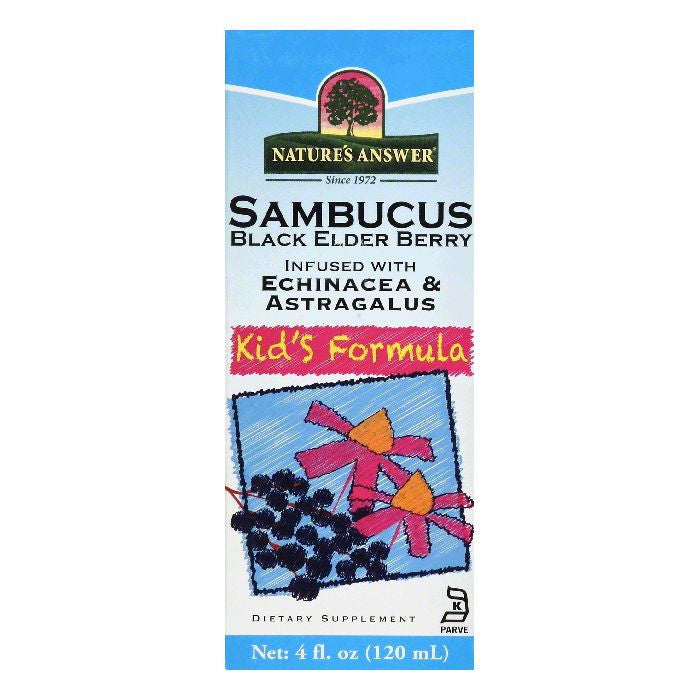 Natures Answer Kid's Formula Sambucus, 4 OZ