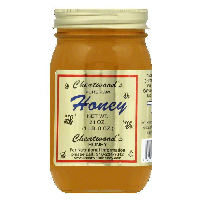 Cheatwood Honey, 24 OZ (Pack of 12)