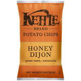Kettle Brand Honey Dijon Potato Chips 5 Oz Bag (Pack of 15)