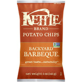 Kettle Brand Backyard Barbeque Potato Chips 5 Oz Bag (Pack of 15)