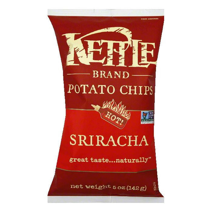 Kettle Sriracha Potato Chips, 5 Oz (Pack of 15)