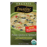 Imagine Spinach Quinoa Potato Soup, 17.3 OZ (Pack of 12)