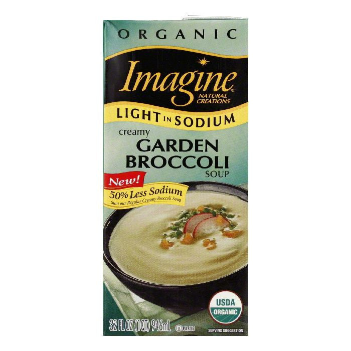 Imagine Organic Garden Broccolli Soup, 32 OZ (Pack of 12)