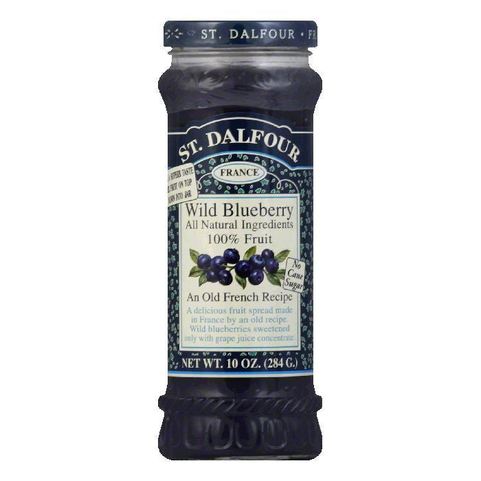 St. Dalfour Blueberry Conserves, 10 OZ (Pack of 6)