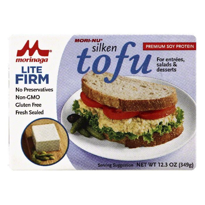 Mori Nu Firm Lite Tofu, 12.3 OZ (Pack of 12)