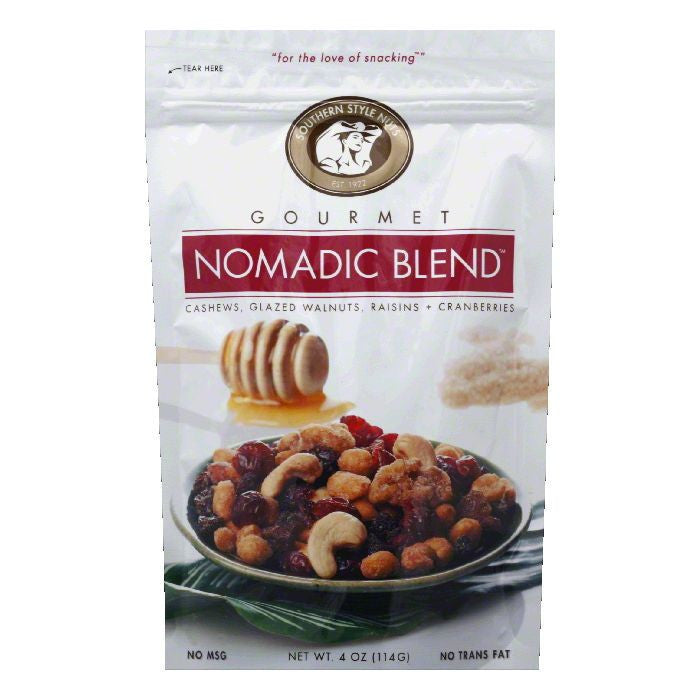 Southern Style Nuts Nut Nomadic Blend, 4 OZ (Pack of 6)