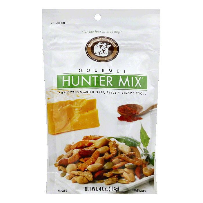 Southern Style Nuts Gourmet Hunter Mix, 4 OZ (Pack of 6)