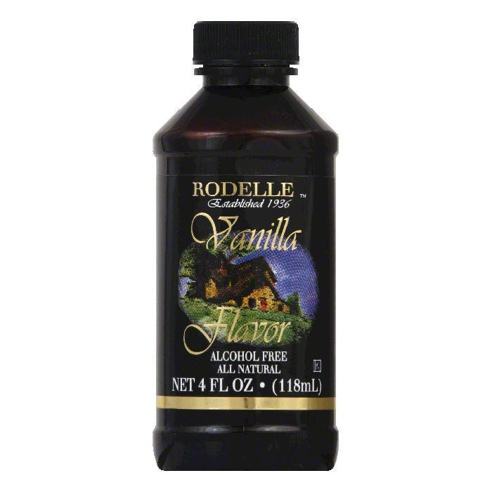 Rodelle Extract Alcohol Free Vanilla, 4 OZ (Pack of 6)