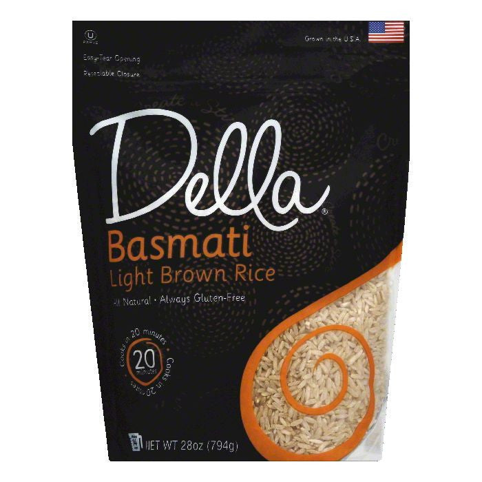 Della Basmati Light Brown Rice, 28 OZ (Pack of 6)