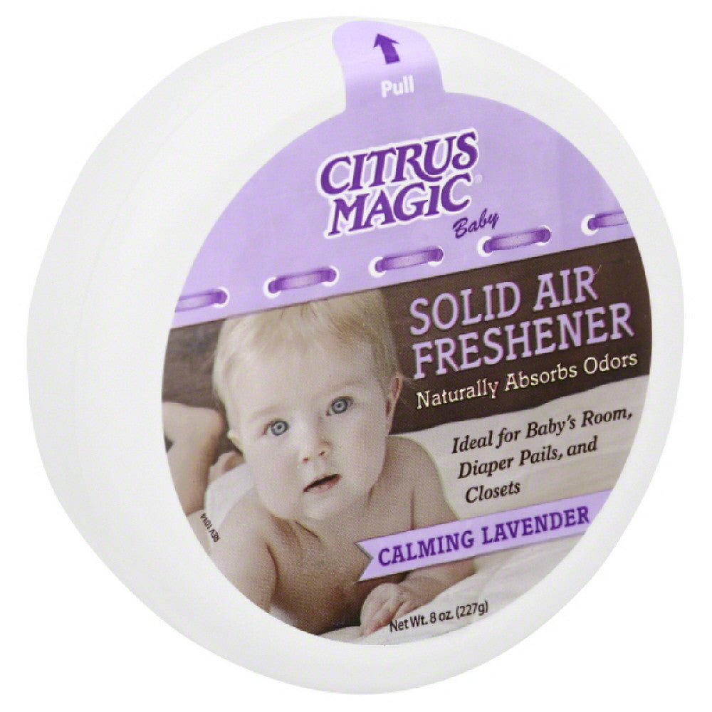 Citrus Magic Calming Lavender Solid Air Freshener, 8 Oz (Pack of 6)